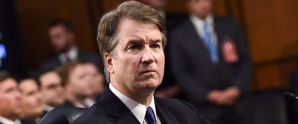 Kavanaugh confirmation hearings begin with protest from ...