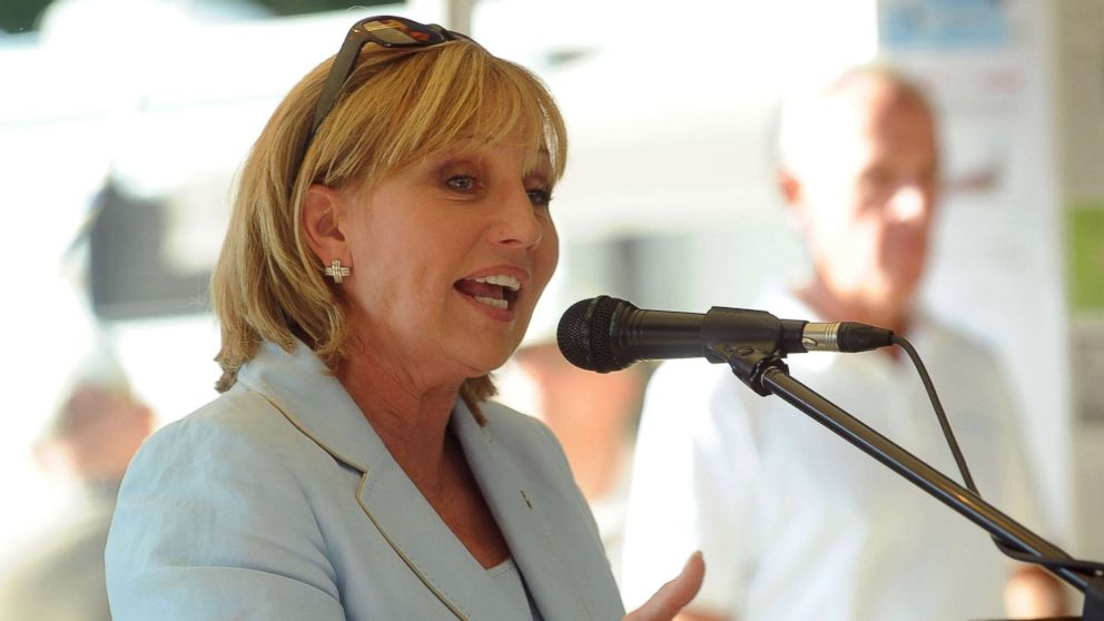 New Jersey Lt. Governor Kim Guadagno speaks at an event at Solberg Airport, July 24, 2015 in Readington, N.J.