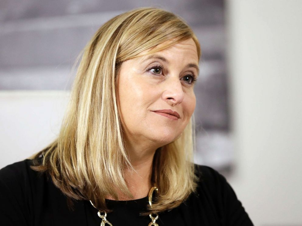 PHOTO: Nashville Mayor Megan Barry listens to a question during a news conference in her office on Aug. 7, 2017, in Nashville, Tenn.