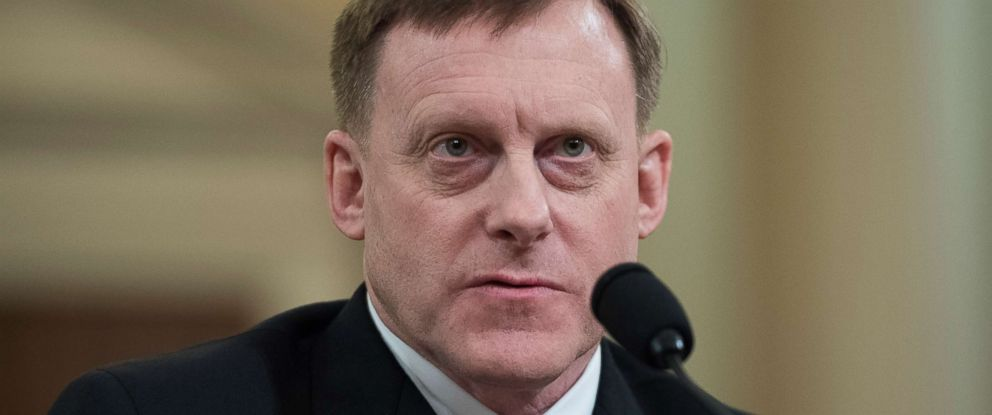 PHOTO: Director of the National Security Agency Adm. Mike Rogers, testifies during for a House Intelligence Committee hearing in Longworth Building on Russian interference with the 2016 election, March 20, 2017.
