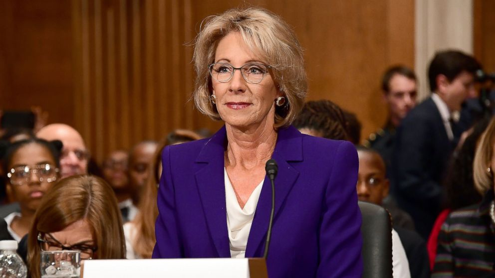 5 Reasons Why Trump Pick Betsy Devos Is >> What Trump S Education Secretary Pick Betsy Devos Said About