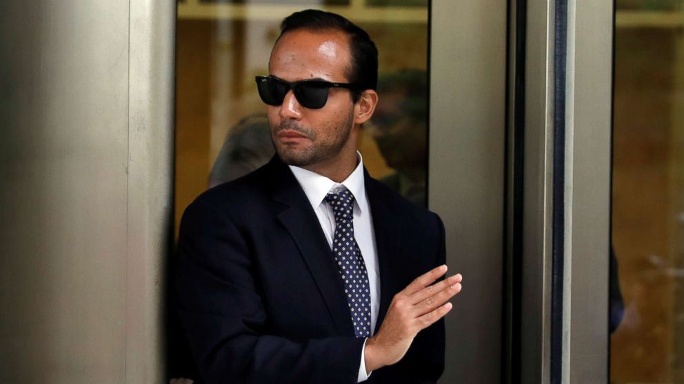 Former Trump campaign aide George Papadopoulos exits U.S. District Court after his sentencing hearing, in Washington D.C., Sept. 7, 2018.