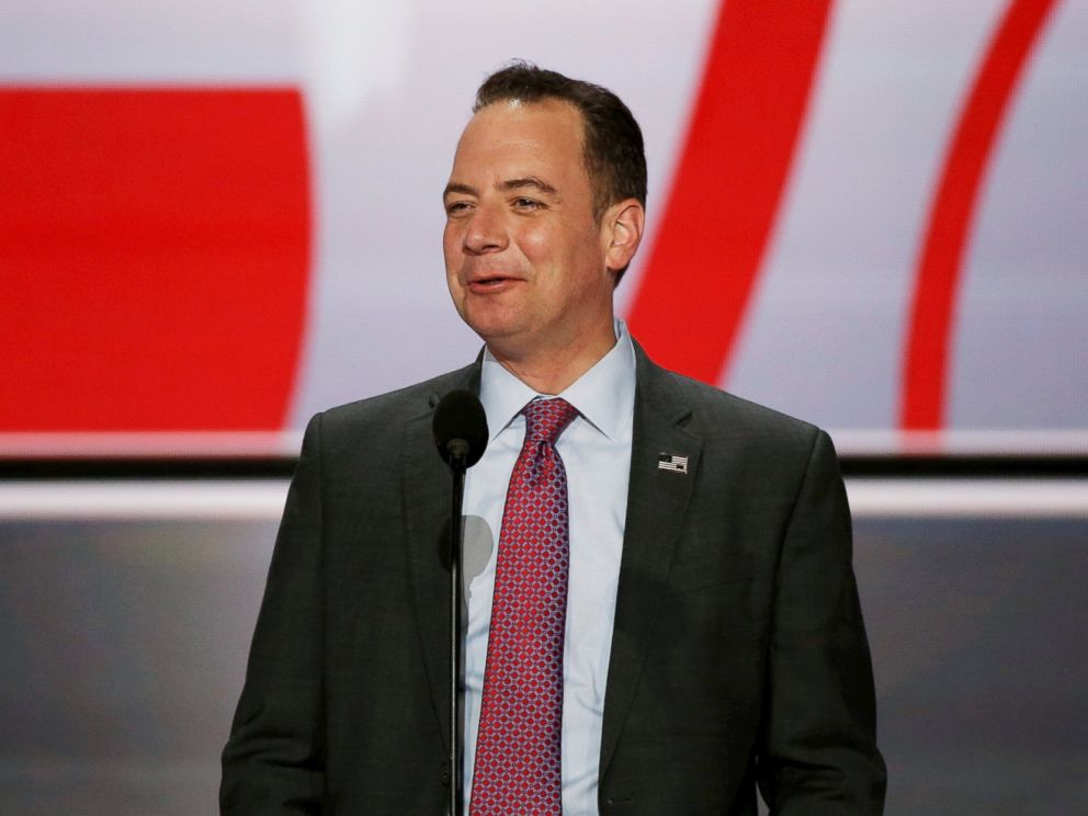 PHOTO: Reince Priebus, Chairman of the Republican National Committee was named as President-elect Donald Trumps chief of staff.