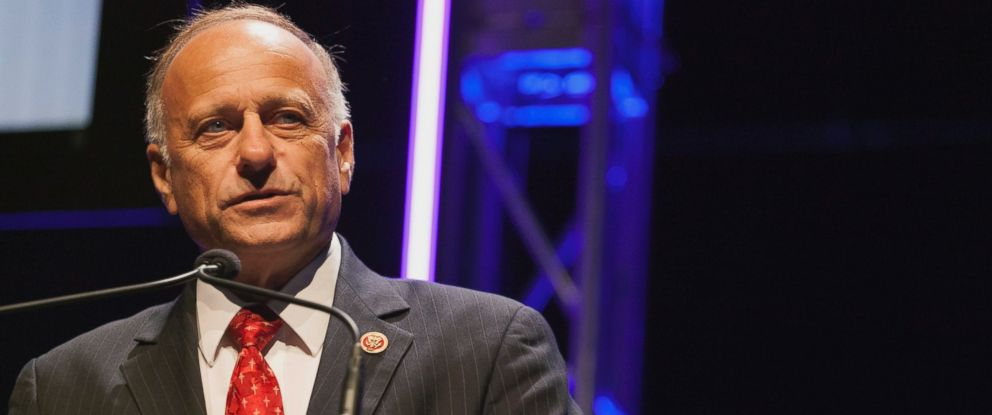 PHOTO: Congressman Steve King speaks at the Family Leadership Summit in Ames, Iowa, Aug. 9, 2014.