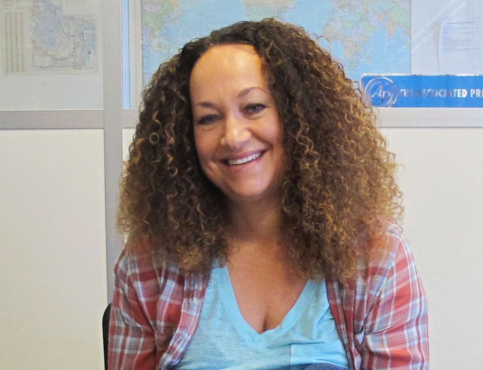 driving  street PHOTO: Nkechi Diallo, then known as Rachel Dolezal, poses for a photo in Spokane, Wash., May 20, 2017. The former NAACP leader in Washington was exposed as a white woman pretending to be black.