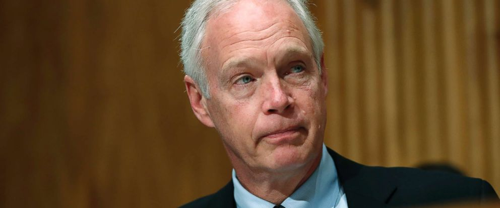 PHOTO: Sen. Ron Johnson, R-Wis., attends a Senate Governmental Affairs subcommittee hearing on international mail and the opioid crisis, Jan. 25, 2018, on Capitol Hill in Washington.