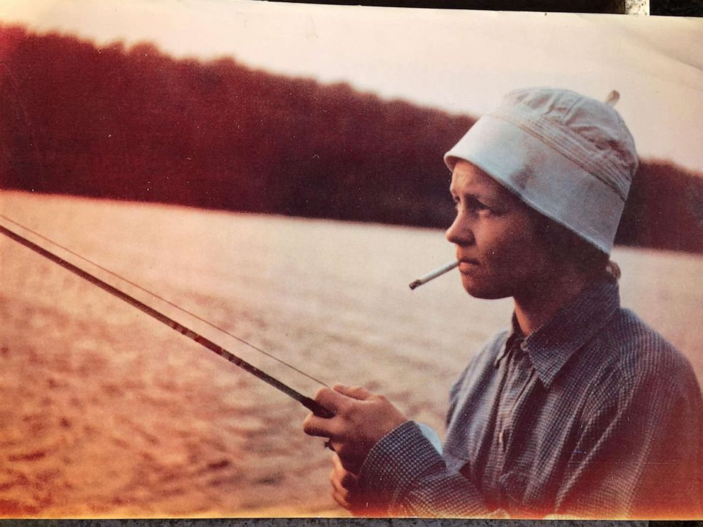 PHOTO: Marnie Fahr Steyer, in an undated photo, was a public schoolteacher and a devout Episcopalian. She really liked to have fun, really liked to fish, really liked to drink, really liked to smoke cigarettes, Steyer told ABC News recently.