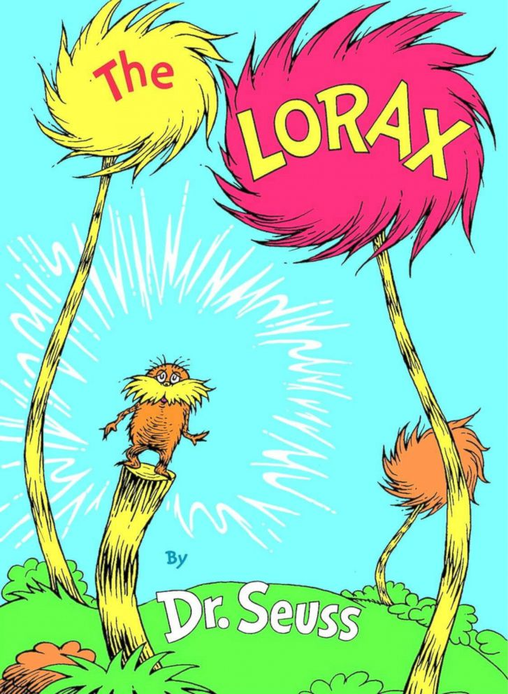 PHOTO: The Lorax, by Dr. Seuss.