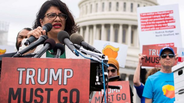 Trump, top House Republicans attack Rep. Tlaib over comments on Israel and the Holocaust