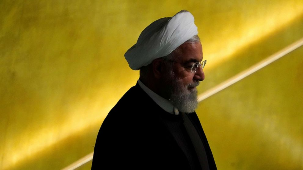 World leaders made last-minute push to get Trump to meet with Iranian President Hassan Rouhani