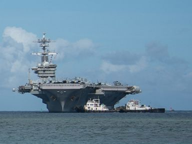 Nearly 10 of carriers crew of 4 800 has coronavirus