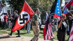 The State Of The White Supremacy And NeoNazi Groups In The US - A map of us after white supremcists take over