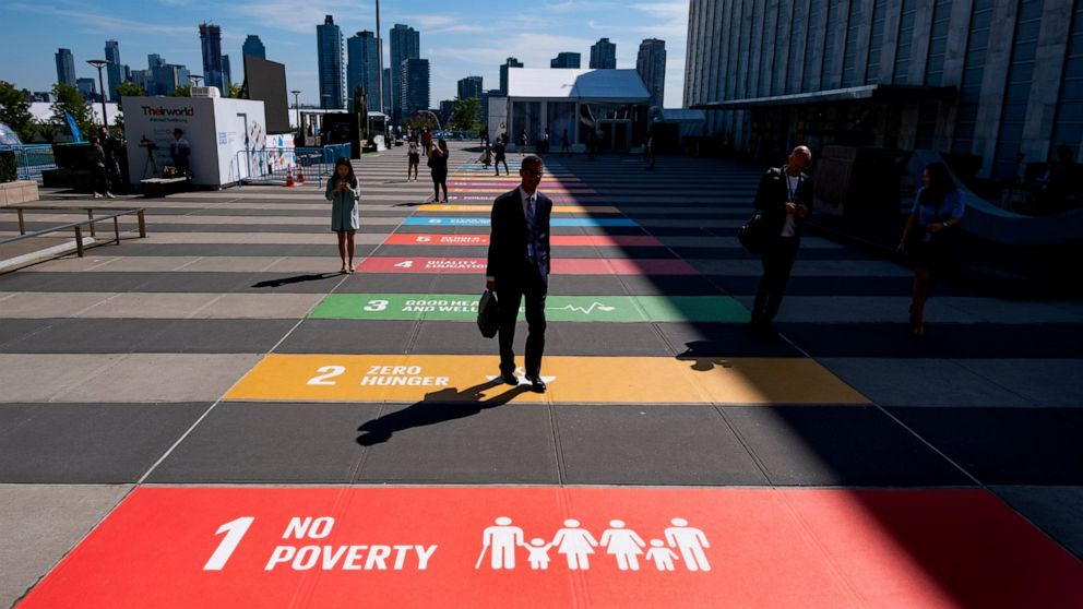 'Defizit von Vertrauen: Bei der UN, der Führer einer sich erwärmenden Welt zu sammeln