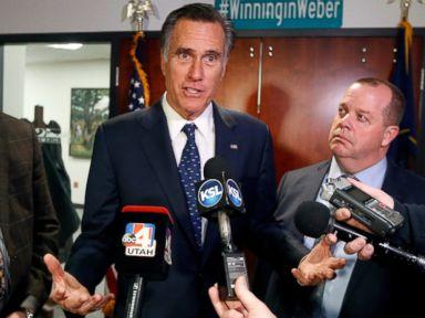 Romney backs Trump in shutdown showdown, questions Pelosi