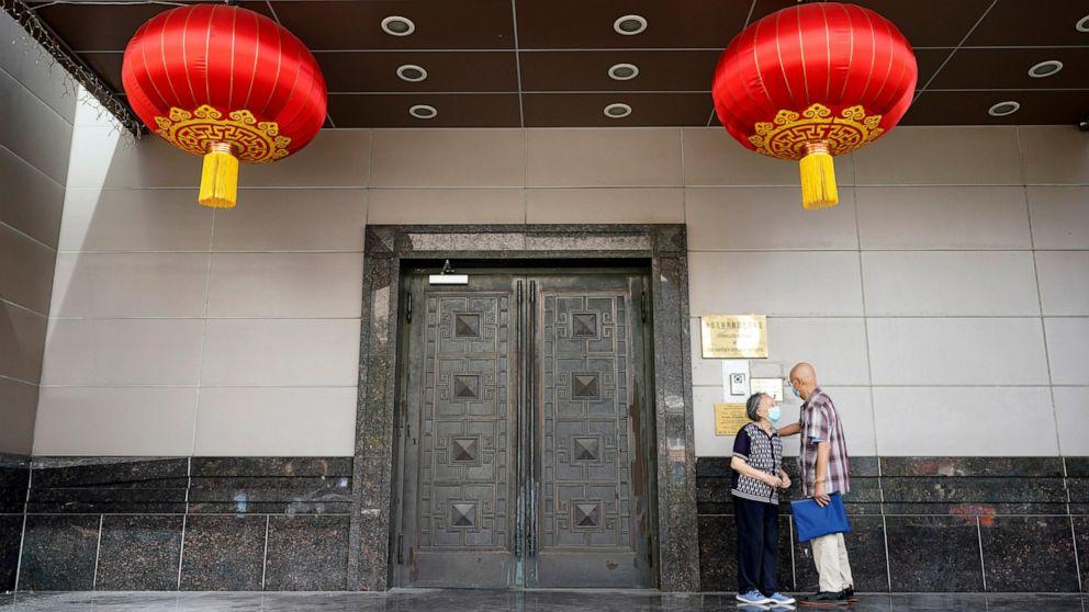 China cites 'malicious slander' as Houston consulate closes thumbnail