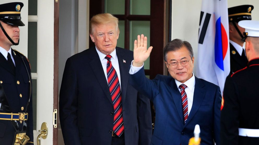 S. Korean leader to meet with Trump in US on nuke diplomacy