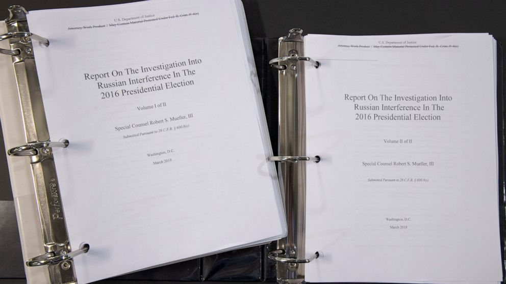 The Kremlin says that Special Counsel Robert Mueller's 400-page report has not offered any credible evidence of Russian interference in the 2016 U.S. presidential election thumbnail