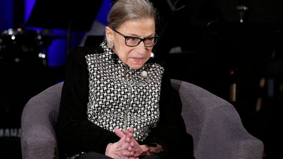 US Supreme Court Justice Ginsburg to get Liberty Medal