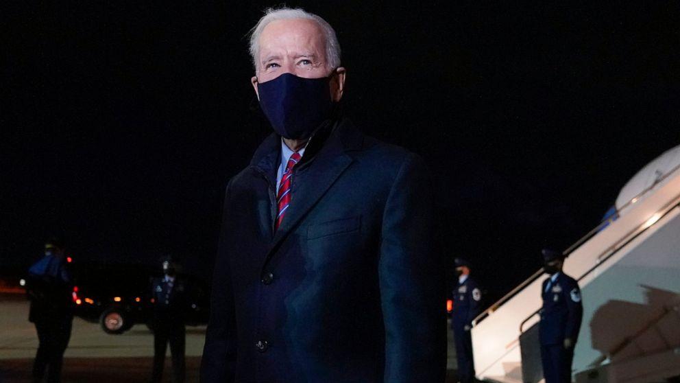 Biden says 'no need' for Trump to get intel briefs