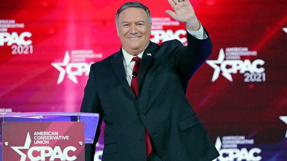 Pompeo unveils PAC, demurs on possible 2024 presidential bid