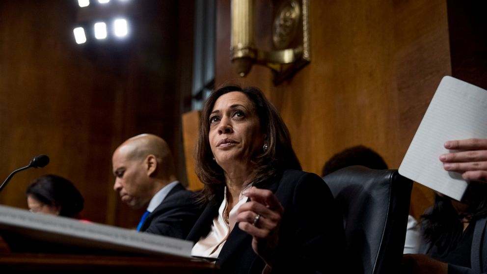 Harris Says She Disagrees With Biden On Crime Bill S Impact Abc News
