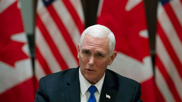 Pence says US-Canada relationship has 'never been stronger'