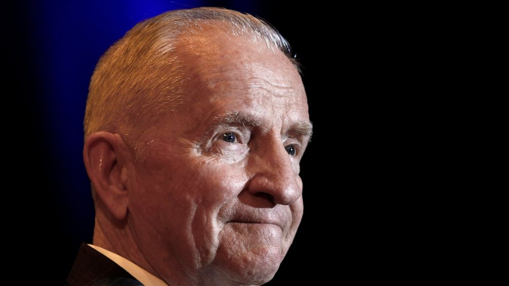 The Latest: Services held in Dallas for H. Ross Perot