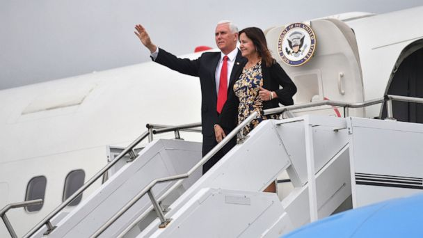 Pence defends stay at Trump property in Ireland