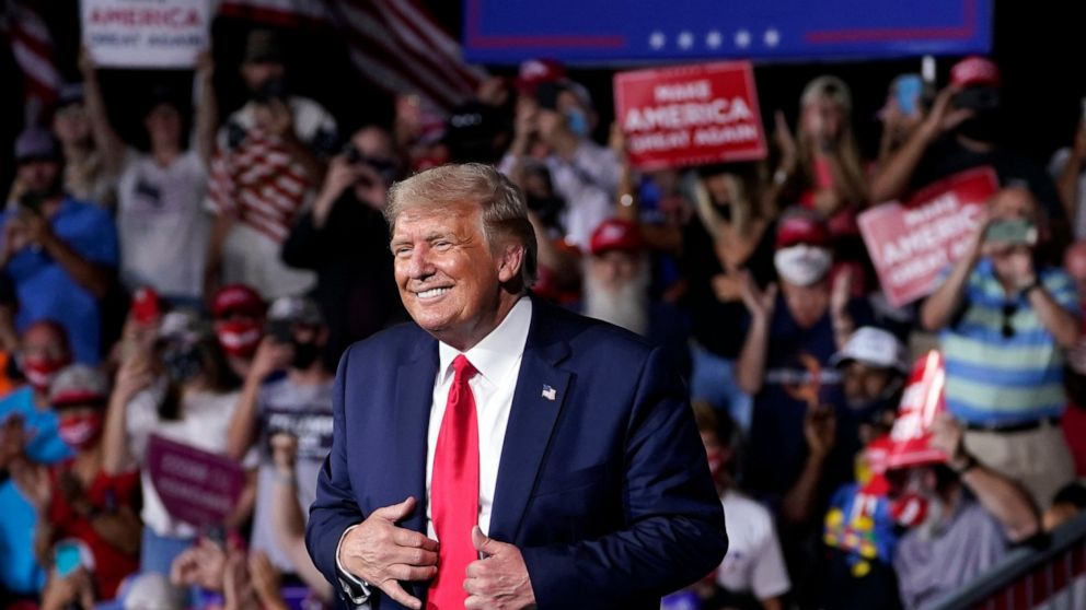 Pandemic overwhelms Trump's message in critical N. Carolina thumbnail