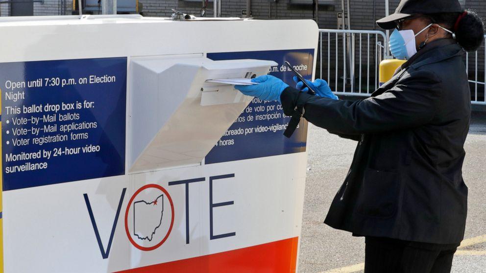 Ohio limit of 1 ballot drop box per county blocked, appealed thumbnail