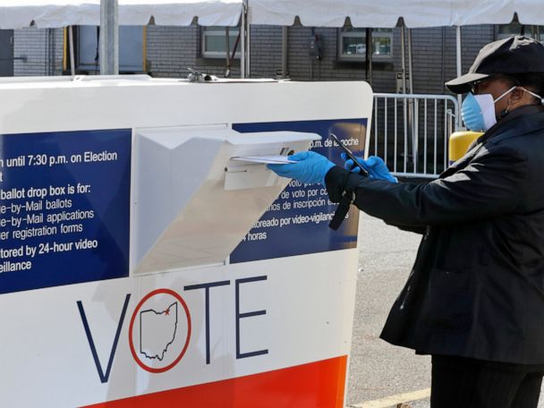 Ohio limit of 1 ballot drop box per county blocked, appealed