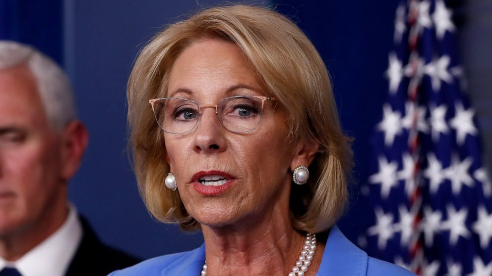 DeVos points rule steering extra virus assist to non-public faculties thumbnail