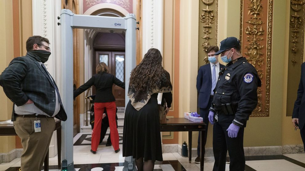 GOP lawmaker with gun sets off House chamber metal detector – ABC News