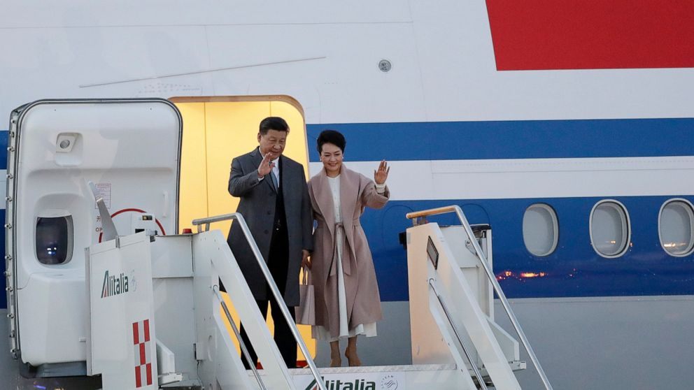 Xi's arrival in Italy fuels Western unease