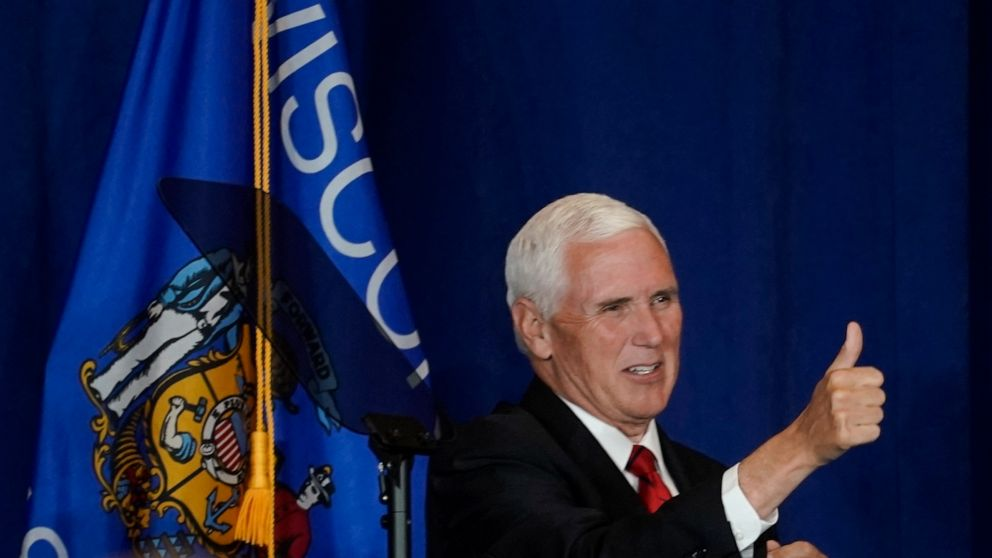 Wisconsin college distances itself from Pence campaign stop thumbnail