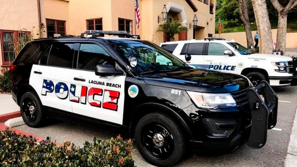 Southern California town votes to keep flag on police cars