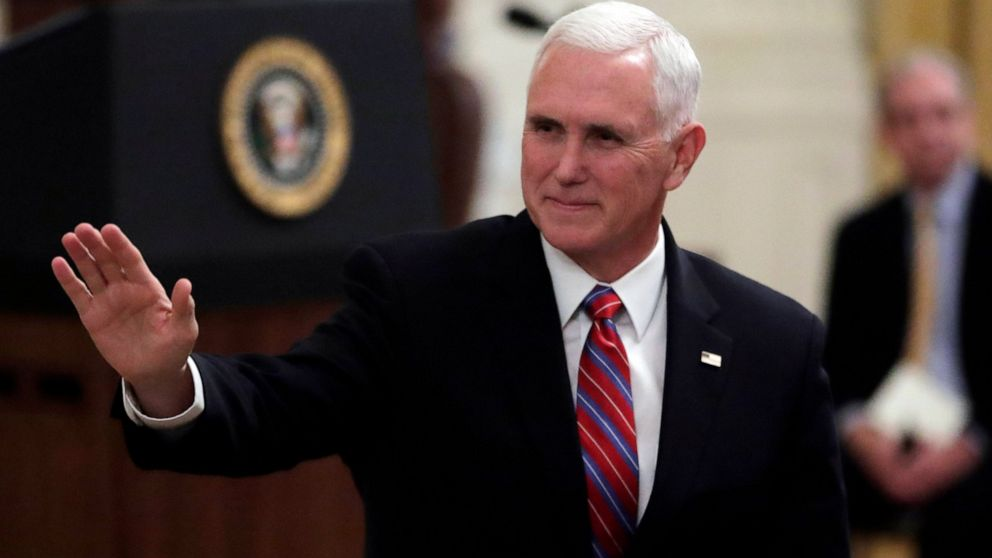 The Latest: Pence makes unannounced visit to Iraq thumbnail