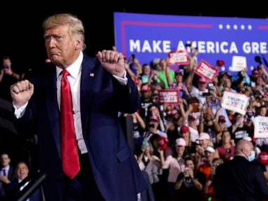 Trump to vote in Fla., hold 3 rallies; Biden focuses on Pa.