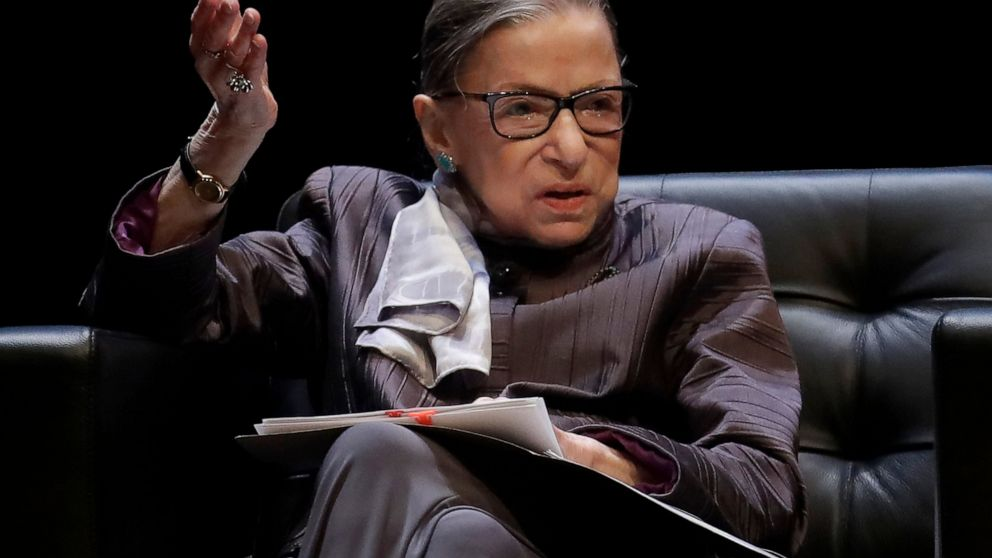 Ginsburg hospitalized for treatment of chills and fever