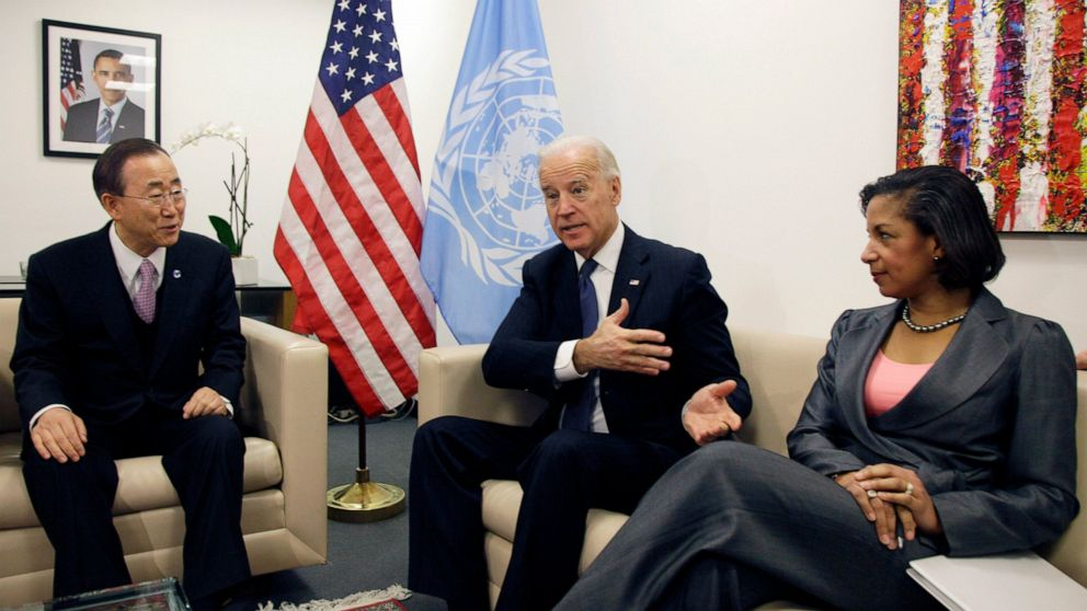 In VP search, Biden has a known quantity in Susan Rice thumbnail