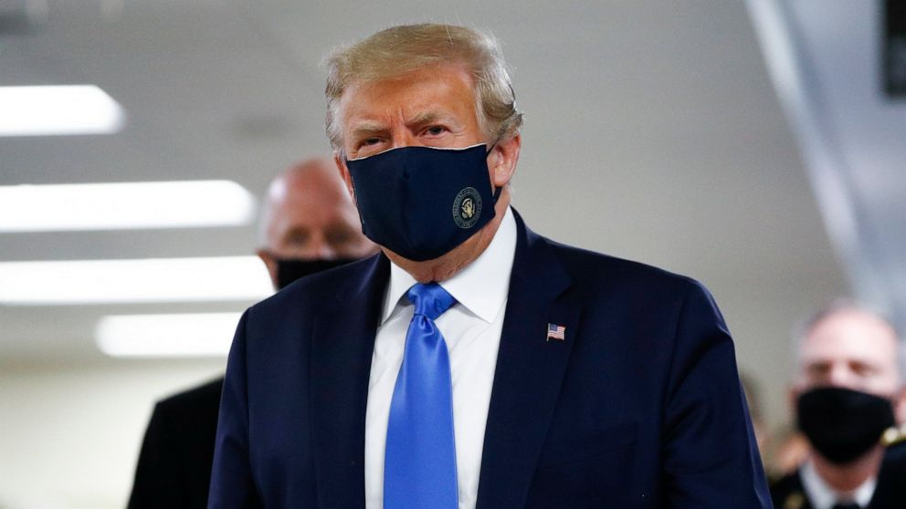 US: Trump finally wears mask in public as COVID-19 cases surge in U.S.