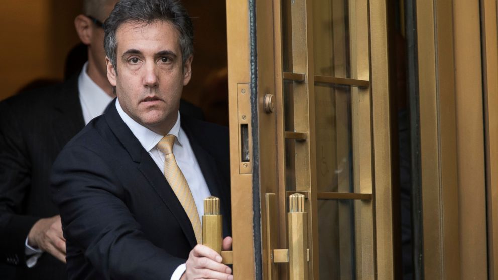 FBI tracked Michael Cohen's phones with controversial device