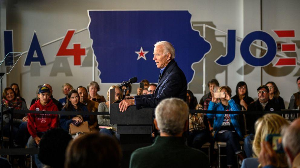 Biden heads to Iowa looking for a rebound in key state