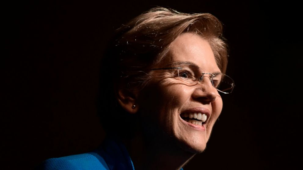 """FILE - In this Jan. 22, 2019, file photo, Sen. Elizabeth Warren, D-Mass., speaks at the """"Community Conversation about Puerto Rico and its Recovery"""" held at the Alejandro Tapia y Rivera Theater, in San Juan, Puerto Rico. Warren is dismissing criticism of her tax plan from two billionaires who are also considering presidential runs. (AP Photo/Carlos Giusti, File)"""