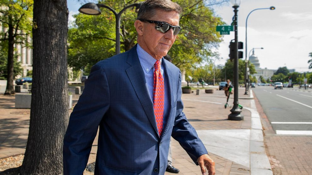 Lawyer for Flynn says she updated Trump on status of case thumbnail