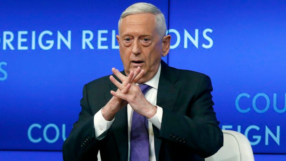 Mattis sagt, Vertrauen ist nur noch eine Frage in den Taliban-Gesprächen