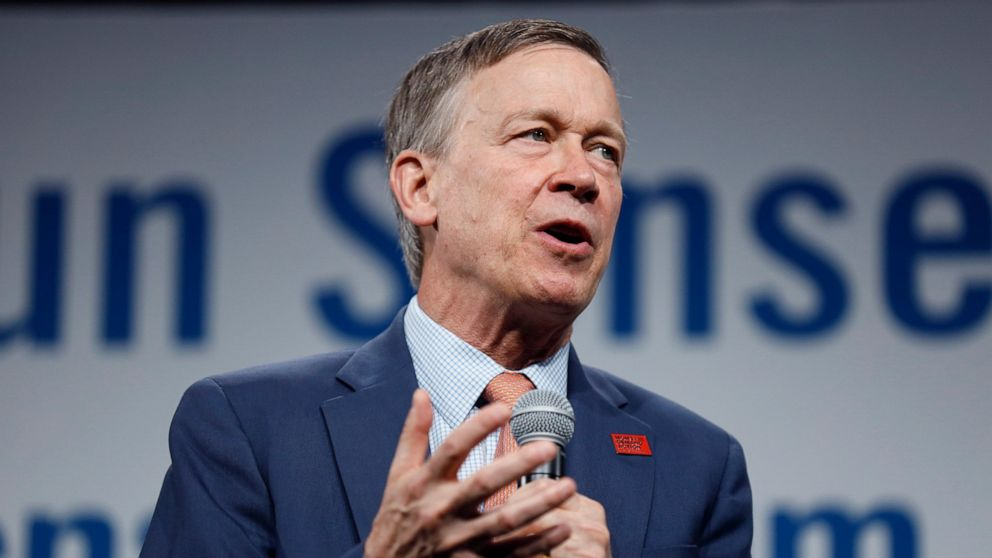 Ex-Colorado Gov. Hickenlooper says he's running for Senate thumbnail