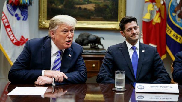 Paul Ryan's public support of Trump masked GOP struggle