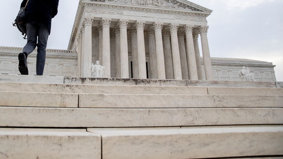 The Supreme Court in Washington, Monday, Jan. 7, 2019. The Supreme Court is ordering a federal appeals court to re-examine the case of a convicted killer in Ohio whose death sentence was thrown after he was found to be mentally disabled. The justices said in an unsigned opinion Monday that the federal appeals court in Cincinnati applied the wrong standard when it concluded that inmate Danny Hill was ineligible to be executed. (AP Photo/Andrew Harnik)