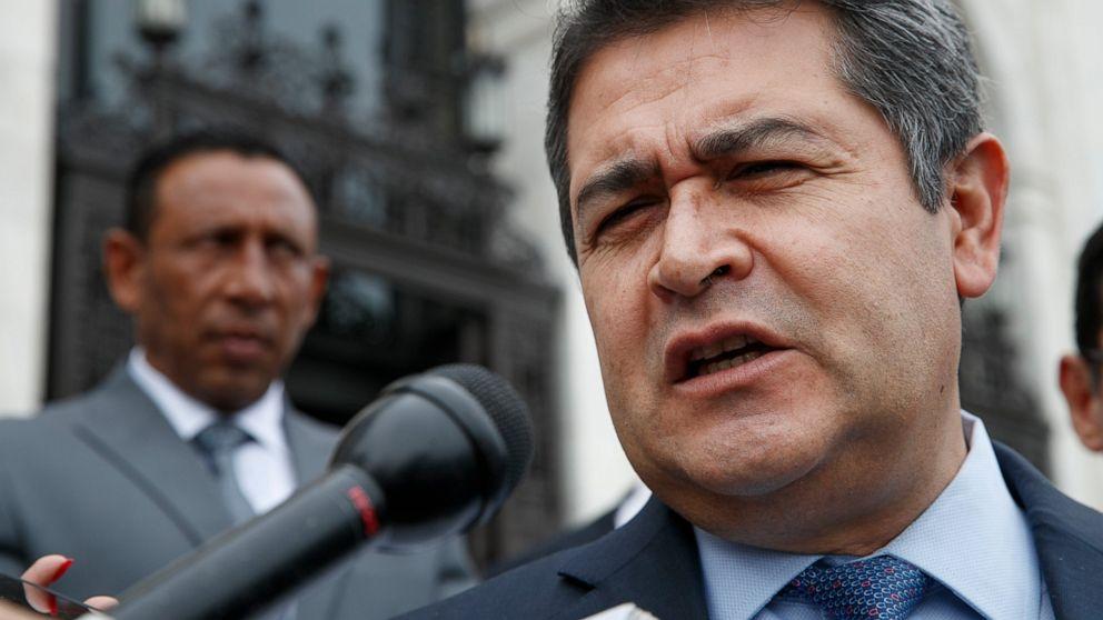 米国の検察庁タイホンジュラスの長薬trafficker